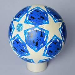 М'яч футбольний 2500-109 розмір 5, ПУ1,4 мм, ручна робота, 32 панелі, 400-420 г, 3 цв, в кульку