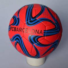 М'яч футбольний 2500-114 розмір 5, ПУ1,4 мм, ручн. робота, 32 панелі,400-420 г,3 (країни), в кульк