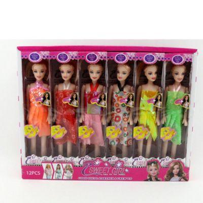 Кукла 188-14 27см, в кор-ке, 12шт(микс видов) в дисплее 39-30-6,5см (ЦЕНА ЗА ДИСПЛЕЙ 12 ШТ)