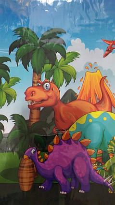 Скатерть праздничная детская  Динозавры
