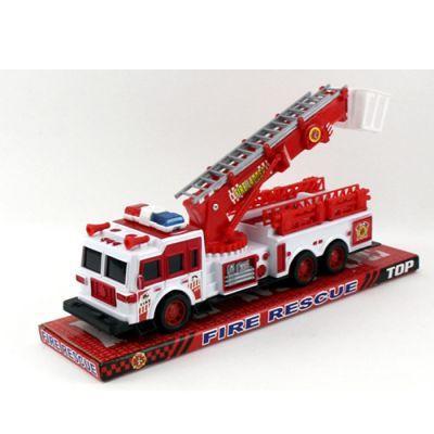 Пожарная машина SH-9009 инер-я, подвижные детали, в слюде 33,5-11-9 см