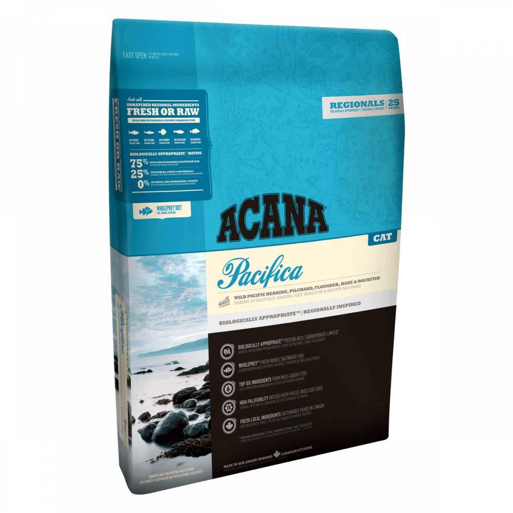 Acana Pacifica Cat (Акана Пацифика Кет) - корм для кошек 1,8 кг