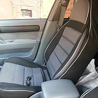 Чехлы сидений ВАЗ 21099 Пилот комплект тканевые темно-серые