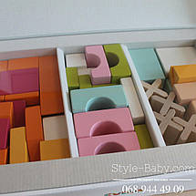 11353 Деревянный конструктор Домик тм Левеня, фото 2