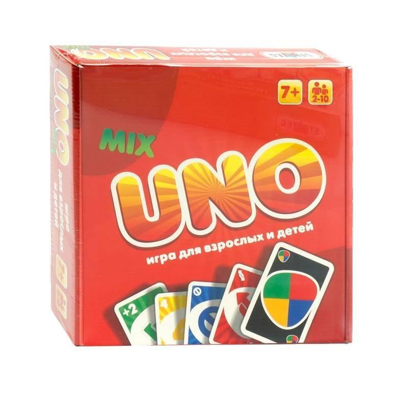 40256 Настольная детская игра UNO Люкс