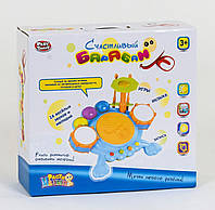 7351 Счастливый Барабан 7351 (18) Play Smart, звуки, мелодии, подсветка, в коробке [Коробка] -
