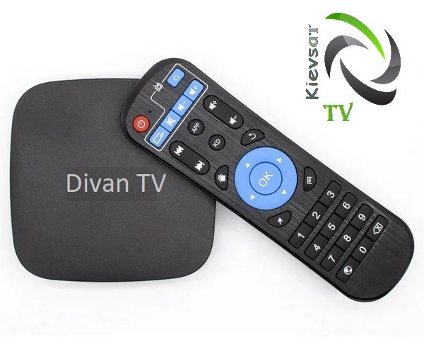 DIVАN.TV BOX «Стартовый»+ 167 тв-каналов, 47 в HD, архив 14 дней