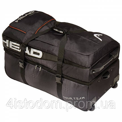 Сумка Head Tour team Travelbag black/silver, фото 2