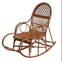 Кресло-качалка плетенное из лозы Ажур, фото 1