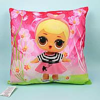 24970-3 Модняшка LOL подушка детская декоративная размер 38*38 см тм Копиця
