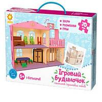 90446 Дом с лифтом 3D конструктор пазлы