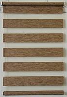 Готовые рулонные шторы 325*1300 Ткань ВН-11 Орех