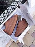 🔥 Кеды кроссовки женские повседневные Alexander McQueen Chestnut александер макквин коричневые, фото 7