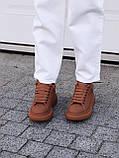 🔥 Кеды кроссовки женские повседневные Alexander McQueen Chestnut александер макквин коричневые, фото 9