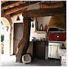 Печь на древесном угле Josper HJX25L (Burgundy) (БН) - Фото