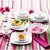 Тарілка обідня Luminarc Quadrato White J0592