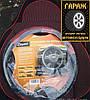 Чехлы универсальные Pilot Пилот кож.зам.черный + ткань красная (с карманом), фото 3