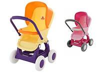KM48134 Візок для ляльок прогулянковий 4-ри колесний (у пакеті)