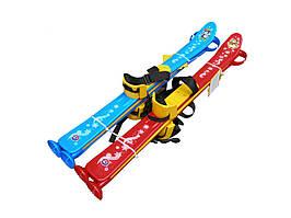 3350 Лыжи с палками детские Технок