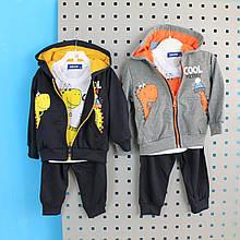 0329 Детский костюм для мальчика Дракоша  тм Crossfire размер 6,12,24,30 мес
