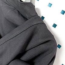 1072черн Водолазка с начесом детская Черная тм Jefix размер 5 лет, фото 3