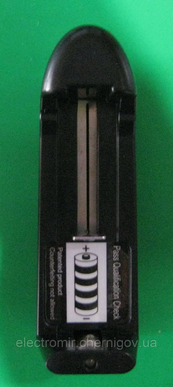 Зарядний пристрій для акумуляторів 18650