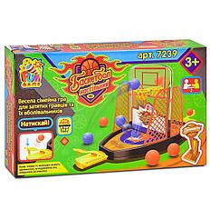 7239 Настольная игра Баскетбол FUN GAME , в коробке