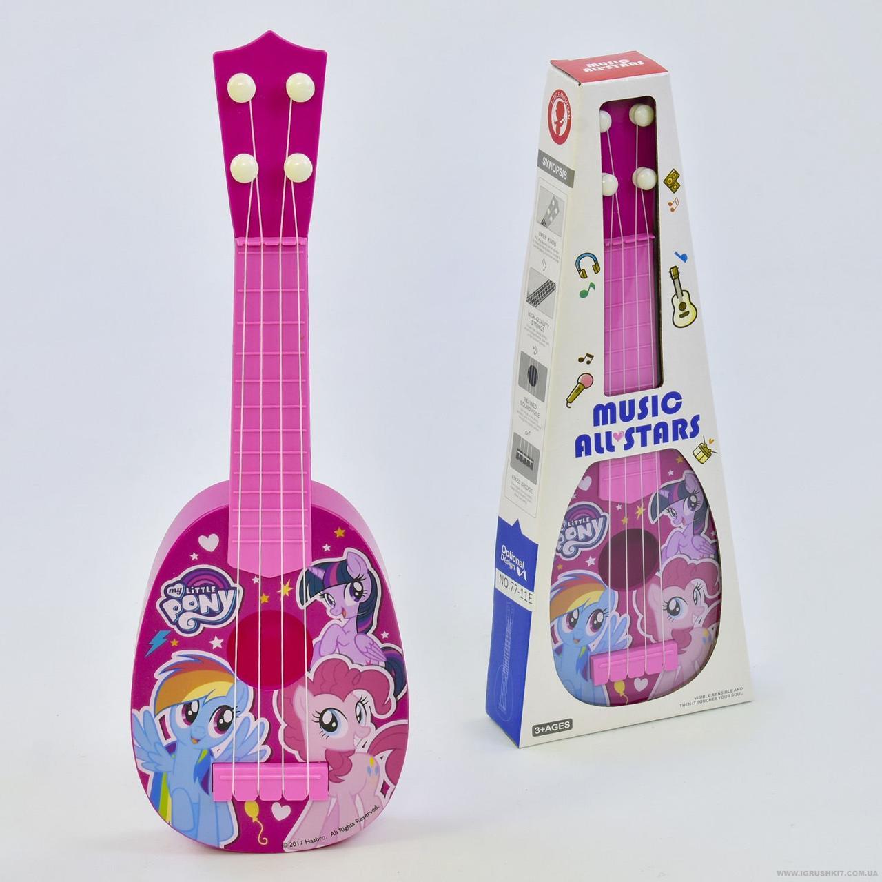 77-11E Гитара детская акустическая в коробке