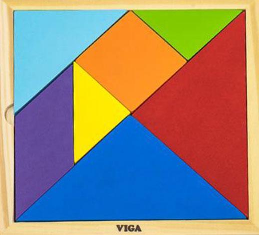Набор для обучения Танграм  Viga Toys 55557
