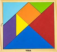 Набор для обучения Танграм  Viga Toys 55557, фото 1