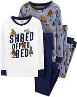 6л, 7л. комплект хлопковых пижам carter's, котоновая пижама картерс.!