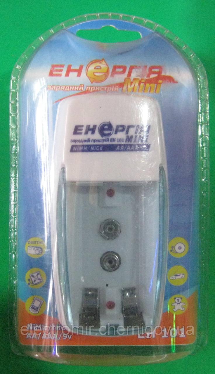 Зарядное устройство Энергия EH-101 Мини (1-2 x AA, AAA, 1 x Крона)