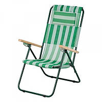 Кресло-Шезлонг Vitan Ясень Бело-Зелёный