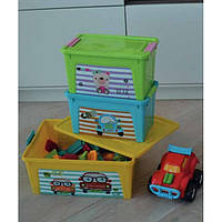 Контейнер Алеана Smart box с декором 7,9 л