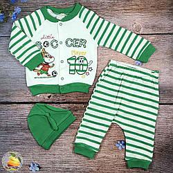 Костюм для малыша с шапочкой и штанишками Размеры: 6,9,12 месяцев (20200-1)