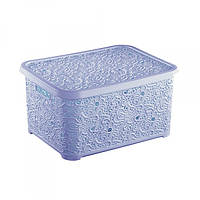 Корзина для хранения Ажур Elif 324-7 Голубой
