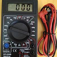 Мультиметр DT-830B без звука