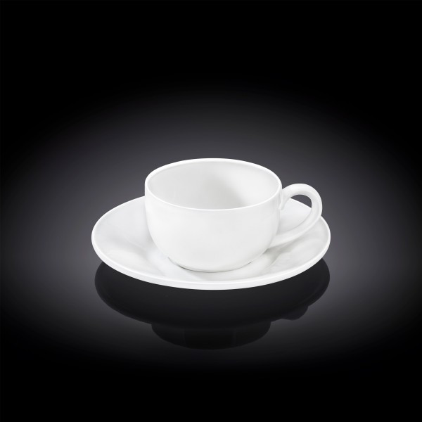 Чашка з блюдцем Wilmax WL-993002