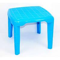Стол детский квадратный Консенсус Голубой