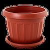 Цветочный горшок Алеана Терра 10 Терракот