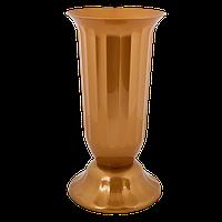 Цветочный горшок Алеана Флора 16 Бронзовый