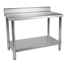 Рабочий стол из нержавеющей стали 100 х 70 см - 95 кг - громкие слова Royal Catering, фото 2
