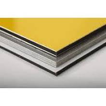 Алюминиевая композитная панель SKYBOND оранжевый (RAL 2009), 3 мм (0,21 / 0,21), лист 1250х5800 мм