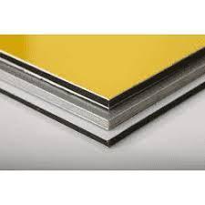 Алюмінієва композитна панель SKYBOND помаранчевий (RAL 2009), 3 мм (0,21/0,21), лист 1250х5800 мм, фото 2