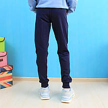 52077 Спортивные штаны для девочки Блестки тм Seagull размер 134 см, фото 3