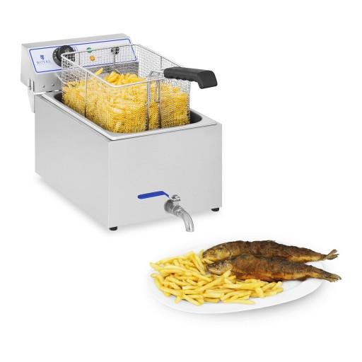 Фритюрница - 17 литров - для рыбы Royal Catering