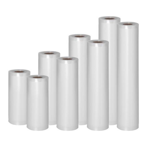 Пленка moletowana для вакуумной упаковки - 8 рулонов - 4 размеры Royal Catering