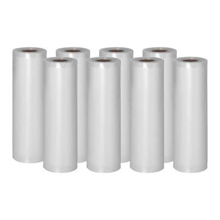 Пленка moletowana для вакуумной упаковки - 8 рулонов - 600 х 20 см Royal Catering, фото 2