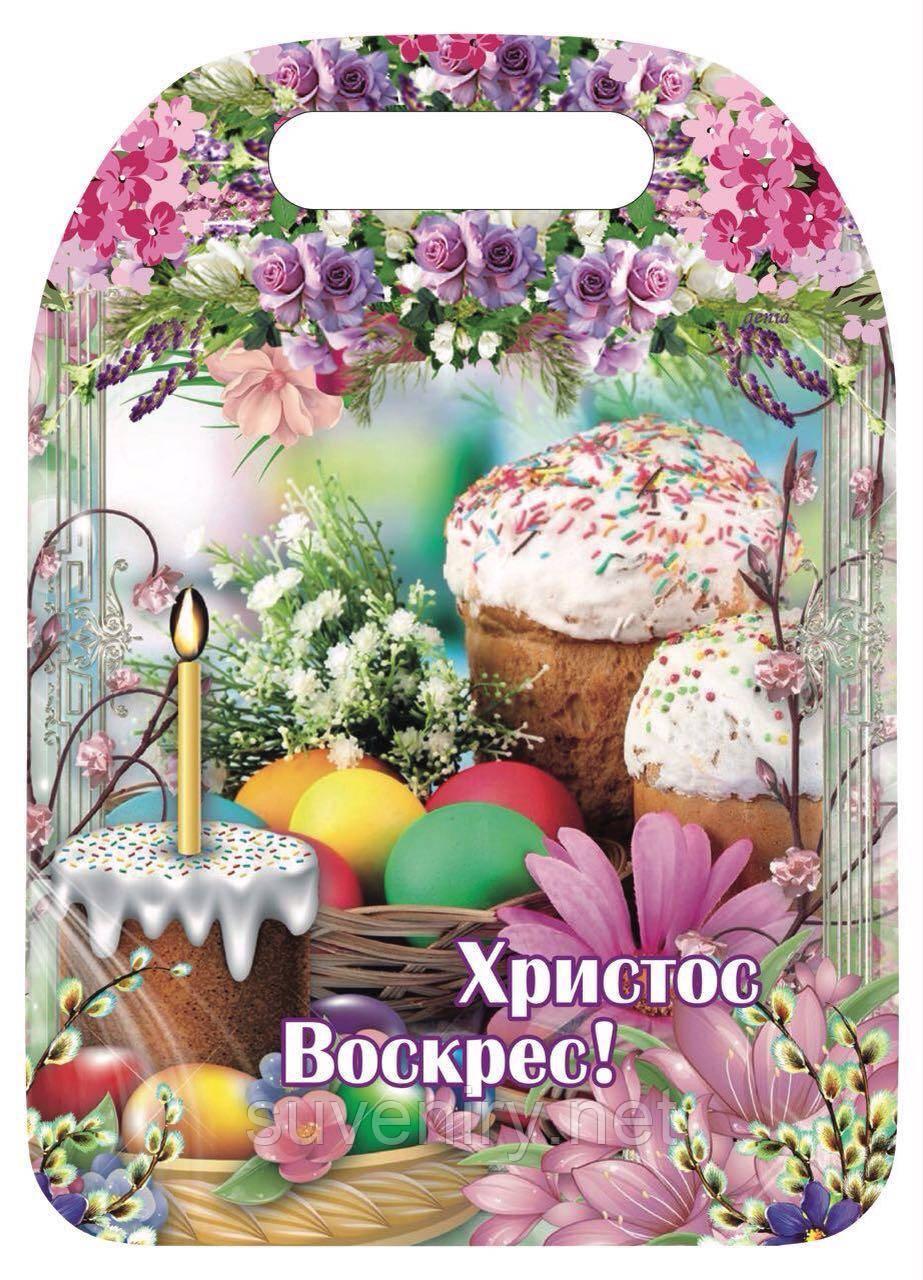 Красиві пасхальні кухонні обробні дошки різні малюнки