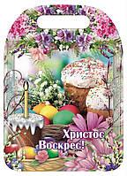 Красиві пасхальні кухонні обробні дошки різні малюнки, фото 1